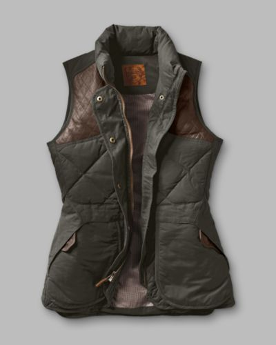 Women's 1936 Skyliner Model Hunting Vest | Eddie Bauer Get in my closet!