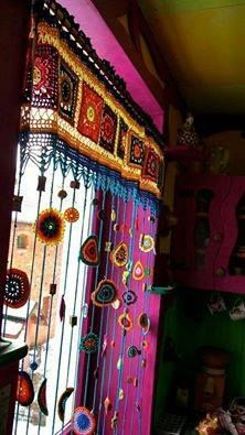 #boho window dressing~ETS