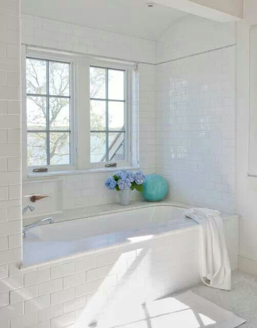 Splurge Or Save: 16 Gorgeous Bath Updates For Any Budget. Bathroom Subway  TilesWhite ...