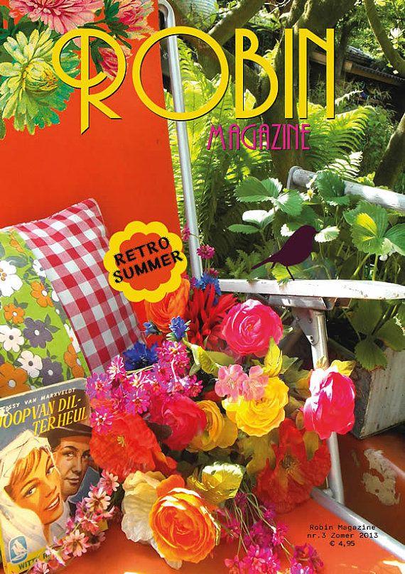 Robin Magazine no.3 Retro Summer, fabulous magazine to take on your vacation!