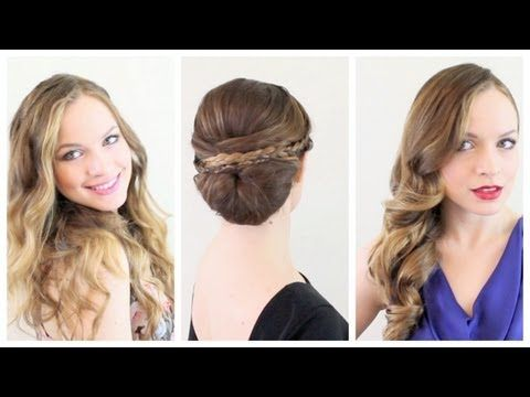 3 Valentines Hairstyles for Any Occasion!