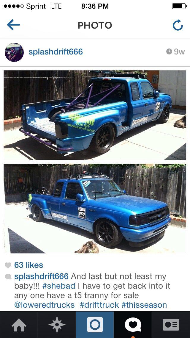 Drift truck 94 ford ranger splash #splashdrift666