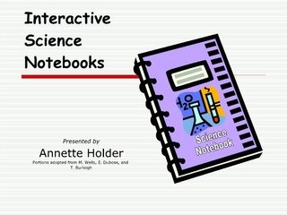 Interactive Science Notebooks student friendly slideshow with procedures http://www.slideshare.net/arholder/interactive-science-notebooks