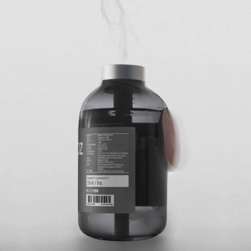 Bottle Humidifier Mini Grey