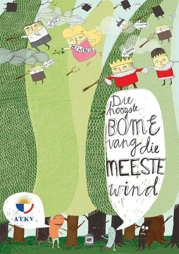 Die Hoogste Bome vang die Meeste Wind_ Afrikaans Idioms