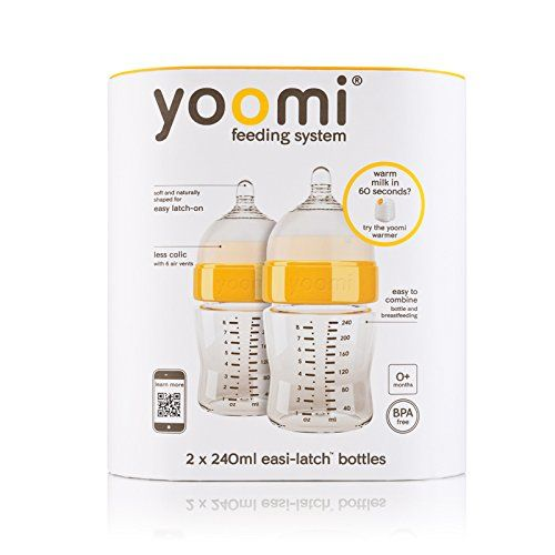 Yoomi Bottle  Nipple  8 oz 2 pack ** To view further for this item, visit the image link.