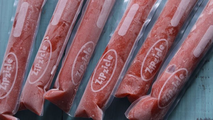 Strawberry Daquiri Freezies