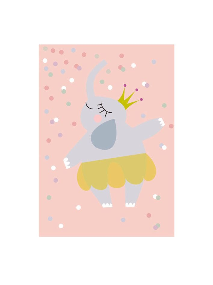 Ballerina Elephant, Children Art, Kids Wall Art, Baby Girl Nursery, Girl Playroom, Kids Playroom, Baby Shower Gift Print by TwoWallNuts on Etsy https://www.etsy.com/uk/listing/268410277/ballerina-elephant-children-art-kids