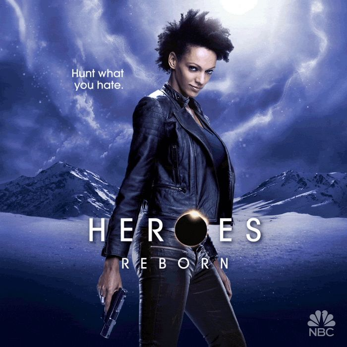 Pin for Later: Prepare to Be Dazzled by the Animated Posters For Heroes Reborn Judith Shekoni as Joanne