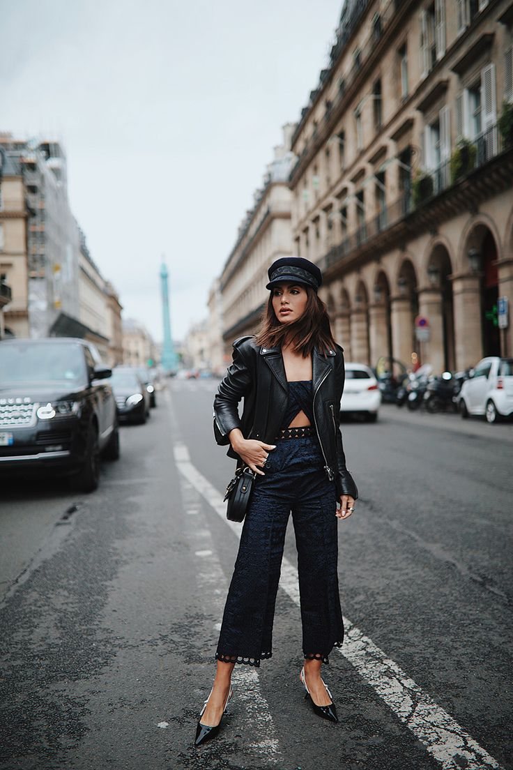 Look: Fiddler Hat and Jumpsuit in Paris!