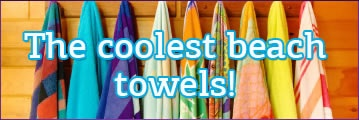 The coolest beach towels @ pennie.gr