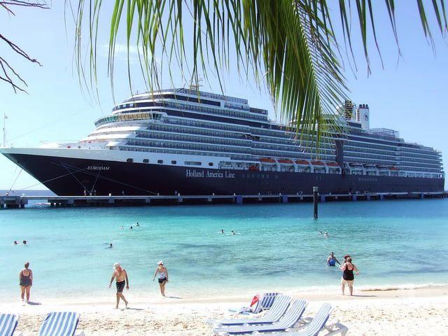 Eurodam Cruise Ship Profile and Photo Tour: Eurodam Exterior Views - Holland America Eurodam Cruise Ship