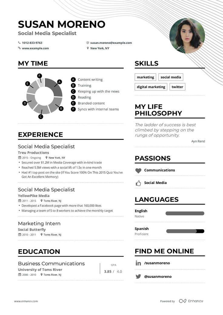 DOWNLOAD Social Media Specialist Resume Example for 2020