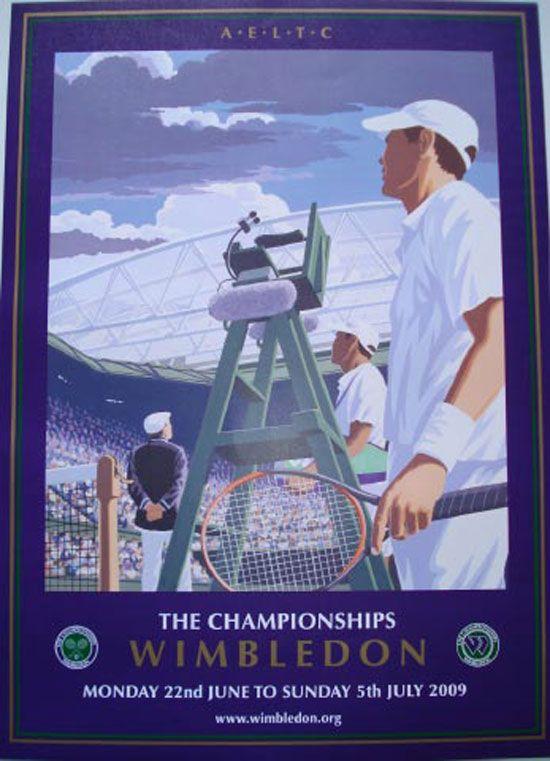 Wimbledon Poster 2009