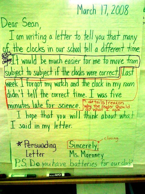 Sample Letter 5th Grade. non narrative persuasive letters jpg 480 640 pixels 32 best Independent Reading Rocks  images on Pinterest Fiction