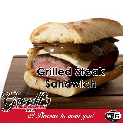 Make Dad a hearty two-handed sandwich this Father's Day. Try out this delicious recipe for a Grilled Steak Sandwich for full recipe read more here: http://acomp.link/B5. #butchery #steak #fathersday