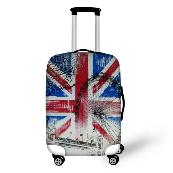 Smart Luggage Cover Londoner - FREE SHIPPING!