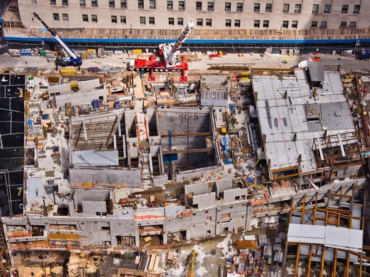 Las soluciones de encofrado de Doka están reconstruyendo la Zona Cero de Nueva York