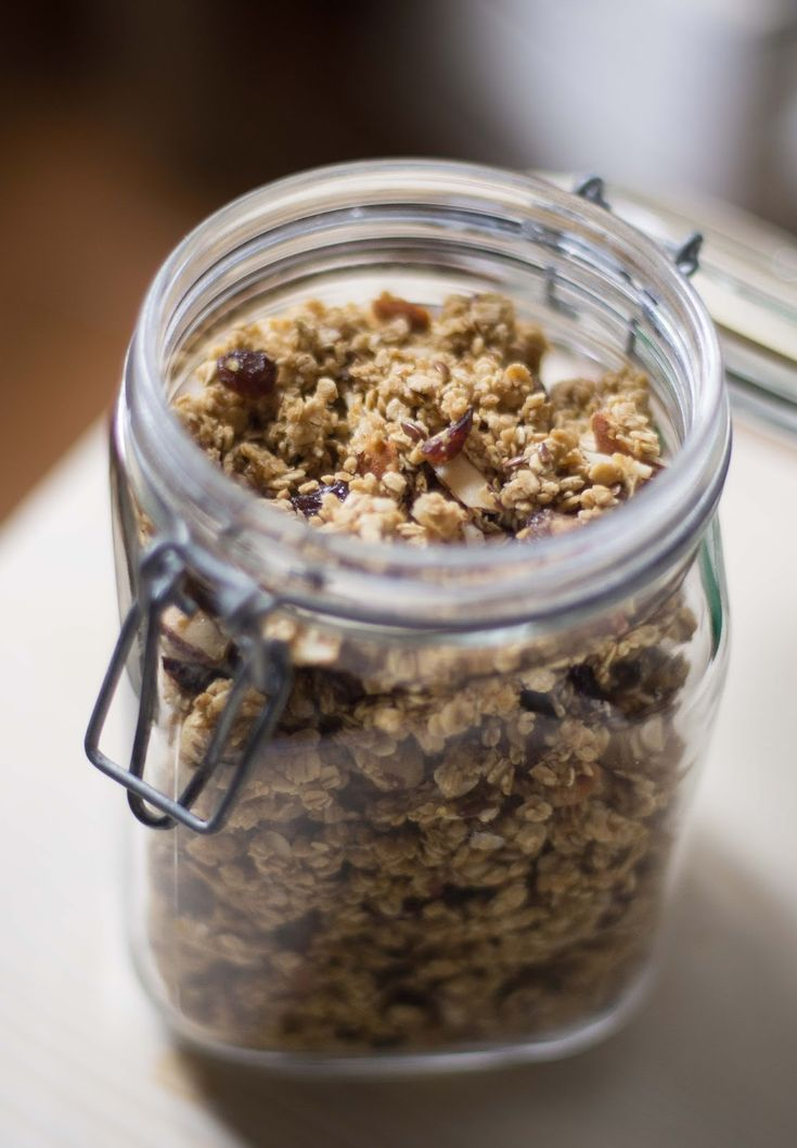 Super easy #vegan #granola