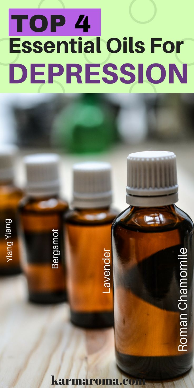 "Everyone suffers from situational depression or ""feeling down"" sometimes. With the stresses and pressure of modern life, it's no surprise that when we are struggling to cope, many of us look for an alternative solution such as essential oils. Read on to learn more about top 4 essential oils for depression and how to use essential oils for anxiety and depression."