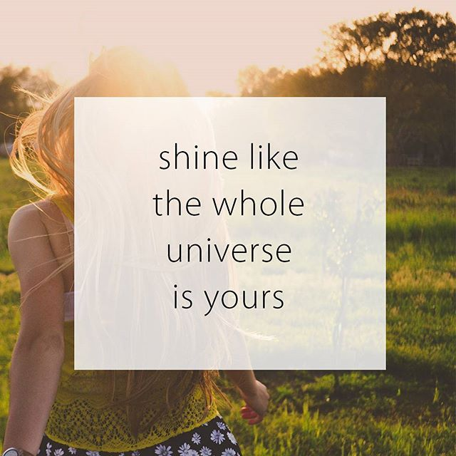 Shine like the while universe is yours. Have a wonderful day everyone   #organiquecanada #organique #natural #ecofriendly #canada #beautiful #pretty #quote #motivation #beyourself #happy #smile #summer