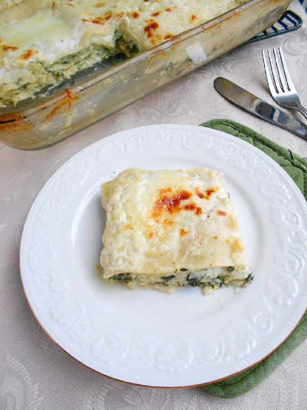 Culinary Couture: Spinach Lasagna with Pesto Bechamel Sauce