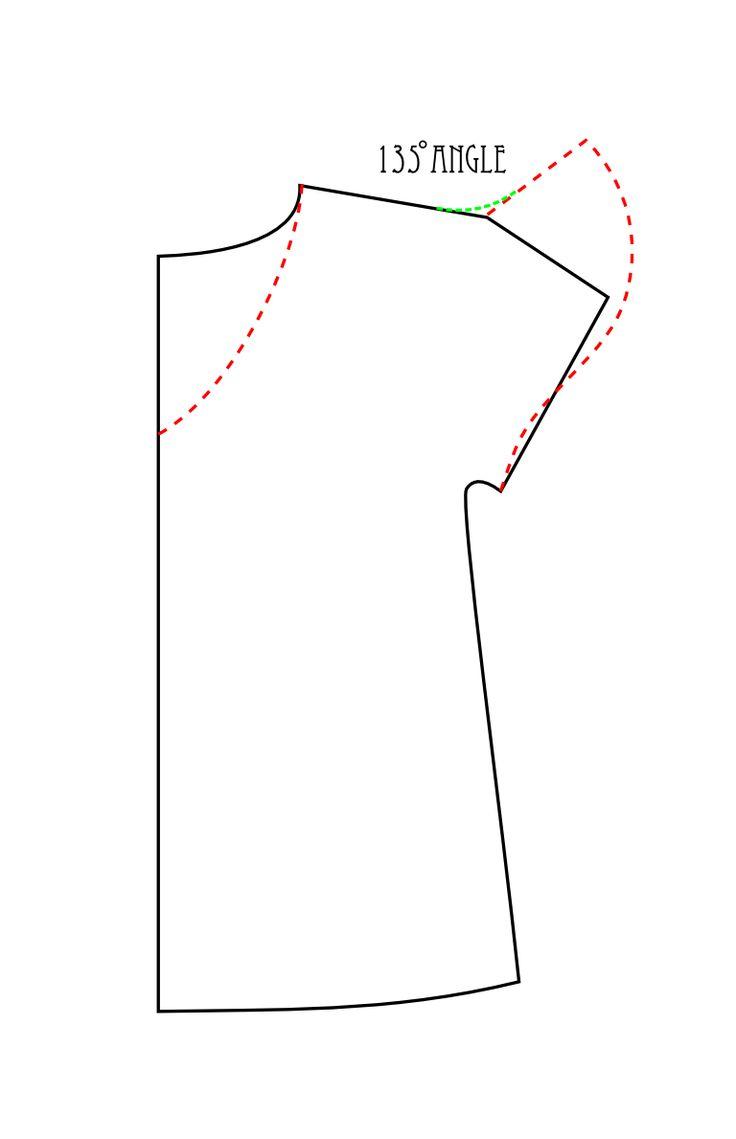Manga de BCT aleteo patrón de diagrama de