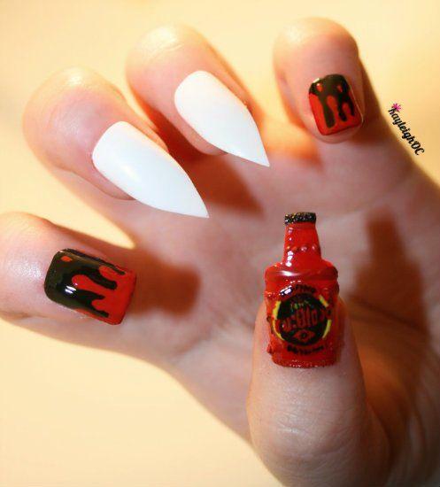 True Blood by *KayleighOC on deviantARTNails Art, True Blood, Nails ...