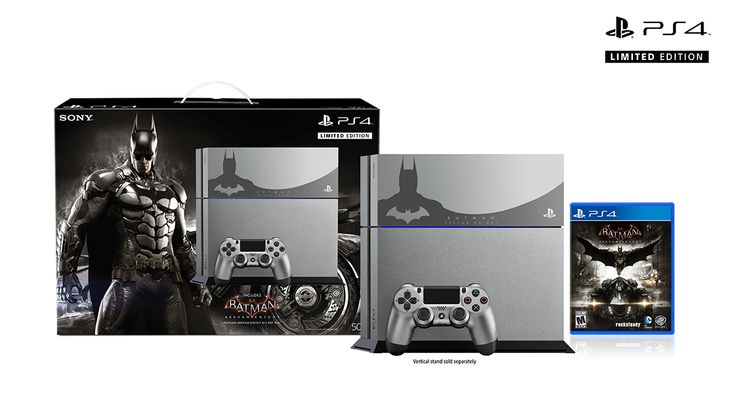 Limited Edition Arkham Knight PS4 console to be released.