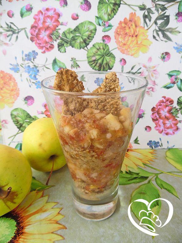 Bicchiere con polpa di frutta e cereali http://www.cuocaperpassione.it/ricetta/a1221f4c-9f72-6375-b10c-ff0000780917/Bicchiere_con_polpa_di_frutta_e_cereali