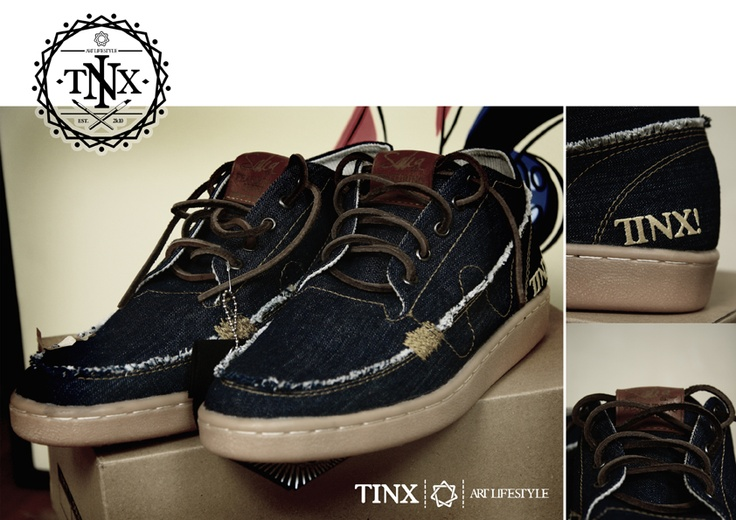 SOLD OUT limited edition denim shoes design by uphique