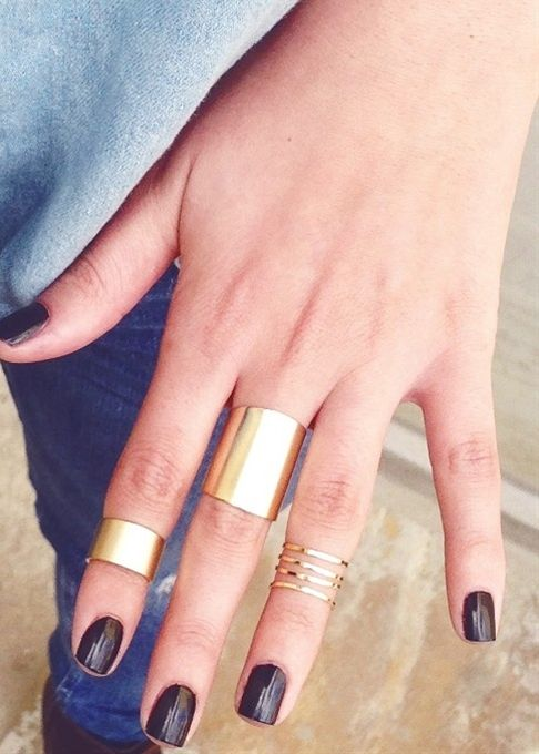 Cuff Rings - Busca estos anillos esta temporada estan super de moda y tienen este toque Gitanilla que tanto nos encanta. :)
