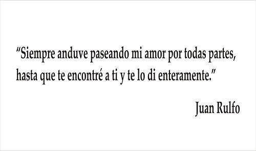 Una bella frase de Juan Rulfo para una #invitación de #boda inolvidable