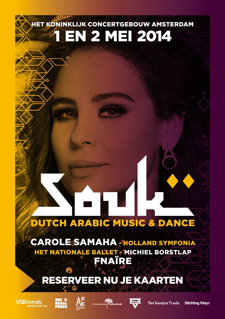 SOUK 2014 Dutch Arabic Festival Music Culture Food Concertgebouw