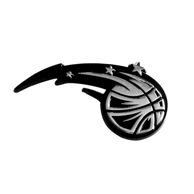 Orlando Magic NBA Chrome Car Emblem (2.3in x 3.7in)