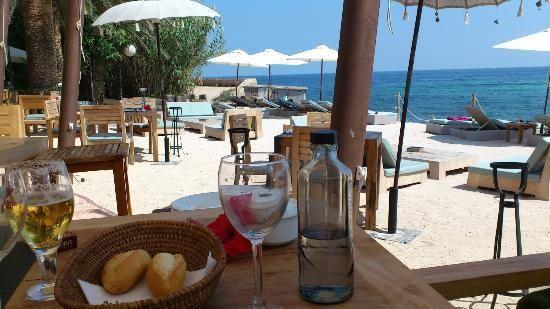 La Escollera #ibiza beach restaurant