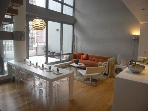Orange Sofa Design, Pictures, Remodel, Decor and Ideas - page 2