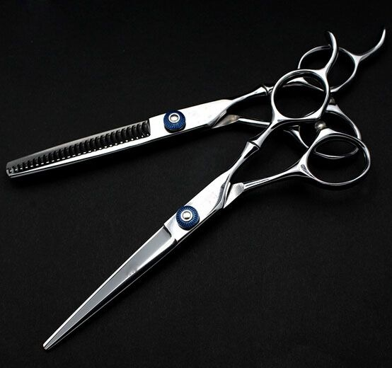 17.85$  Buy here - http://ali5hx.shopchina.info/go.php?t=32618050932 - High quality tijeras de peluqueria professional hairdressing scissor  japan steel Hairstylist shears hair cutting and thinning 17.85$ #magazineonline