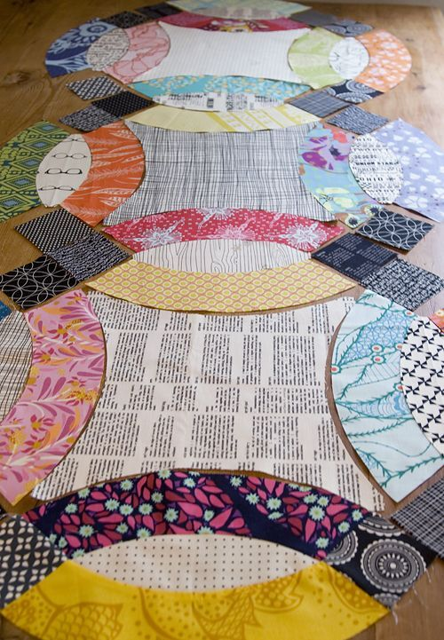 Double Wedding Ring Quilt by Fresh Lemons Quilts : Faith