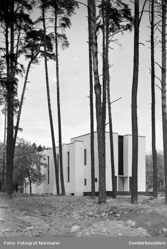 Arkitekt Rolf Prag, Hamar Krematorium, 1936