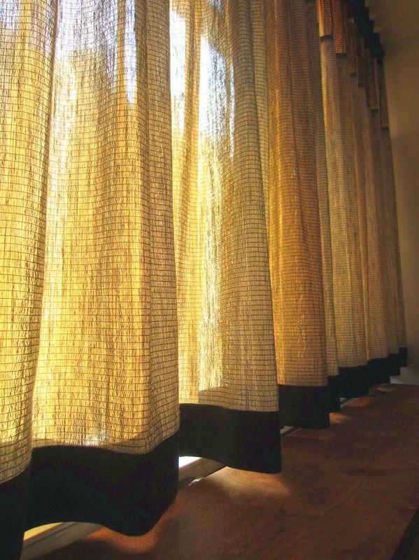 33 best gordijnen images on Pinterest | Sheet curtains, Window ...