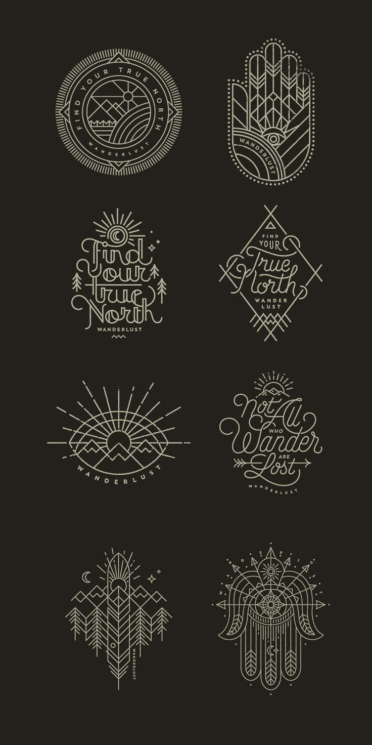 Wanderlust Graphics by Jared Jacob