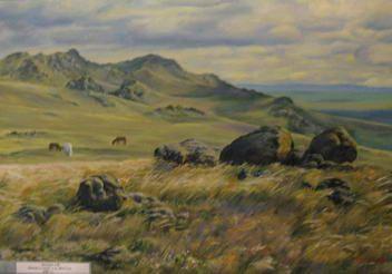 Александр Батуров. Камни в степи