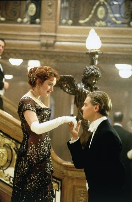 The dress I want for prom, she looked so beautifulFilm, Rose, Dresses, Kate Winslet, Titanic Movie, Leonardo Dicaprio, Movie Moments, Jack O'Connel, Favorite Movie