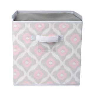 The Macbeth Collection Closet Candie Ikat Collapsible Storage Cube