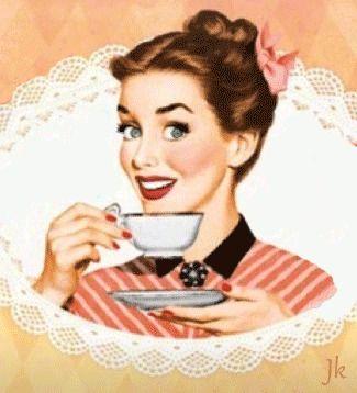 Vintage GIF #3  #gif #art #vintage #coffee