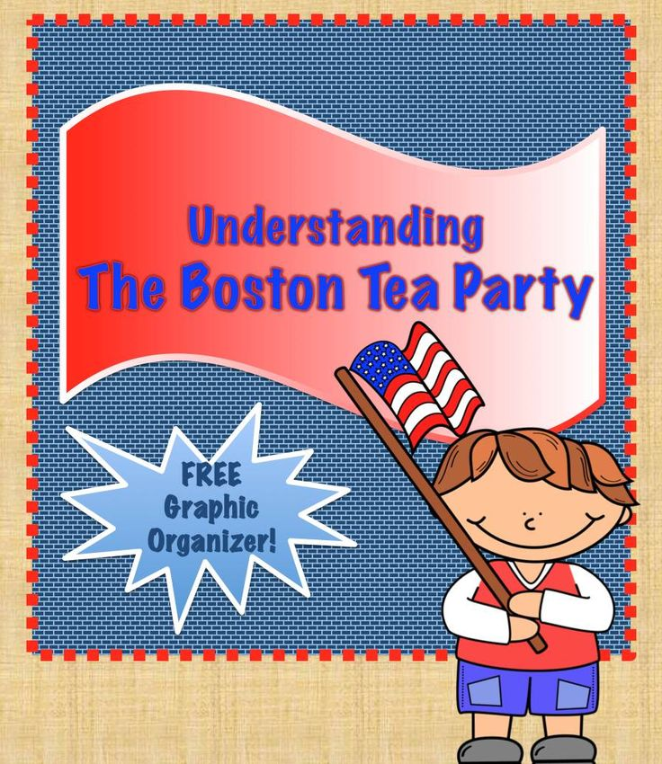 FREE graphic organizer to help students understand the events around the Boston Tea Party!