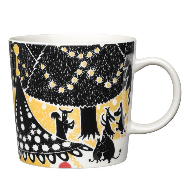 "Moomin mug ""Hurray!"" by Arabia"