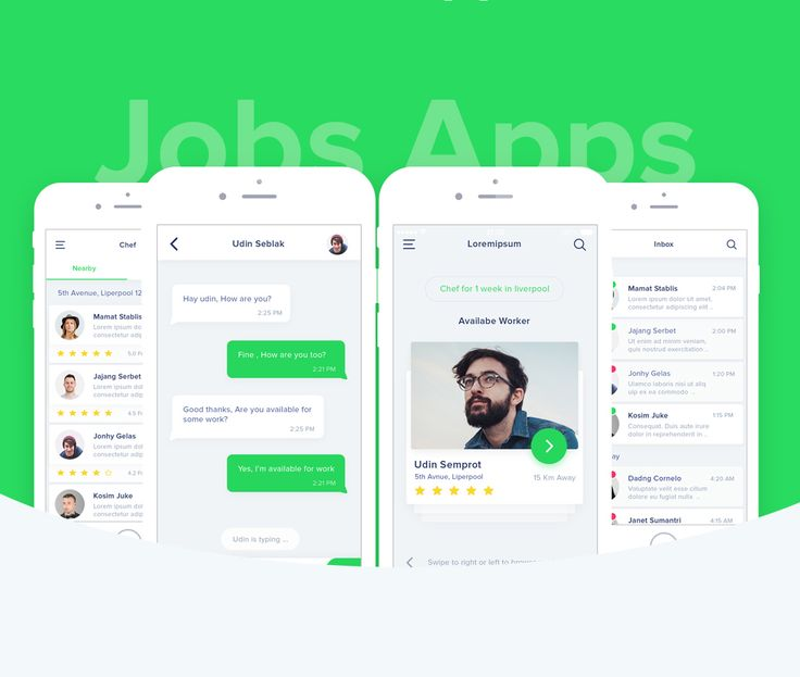 Awesome Job Search App Free PSD. Download Job Search App Free PSD. This is a amazing set of free ui screens for a job search application. The Job Search App Free PSD design is clean and modern with a well-suited color scheme. If you want to create something similar be sure to download this Job Search App Free PSD file. Hope you like it. Enjoy!    Download PSD