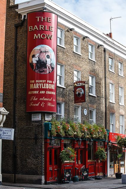 The Barley Mow, Dorset St, Marylebone